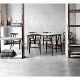 Carl Hansen & Son CH24 Wishbone stoel Colours White Paper Cord