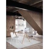 Muuto Fiber Side Wood stoel