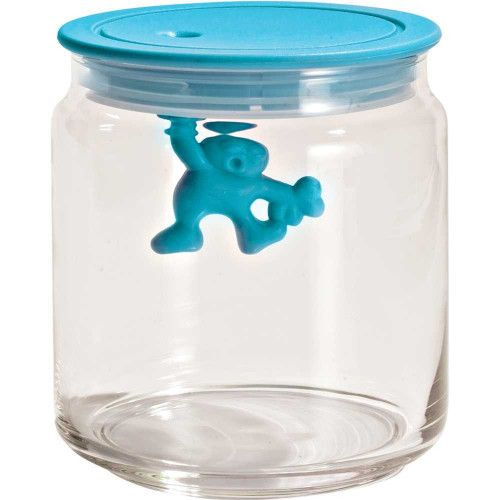 Alessi Gianni Glass Jar voorraadpot small