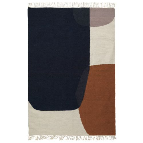 Ferm Living Kelim Merge vloerkleed large 140x200