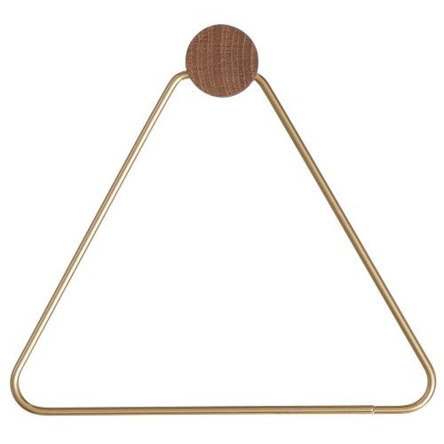 Ferm Living Brass toiletrolhouder