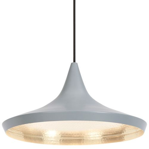 Tom Dixon Beat Light Wide hanglamp grijs