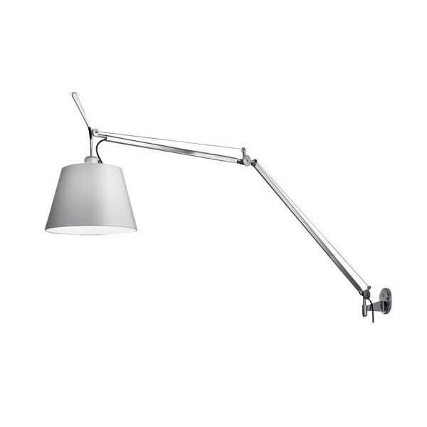 artemide tolomeo mega parete wandlamp met dimmer aluminium flinders verzendt gratis. Black Bedroom Furniture Sets. Home Design Ideas