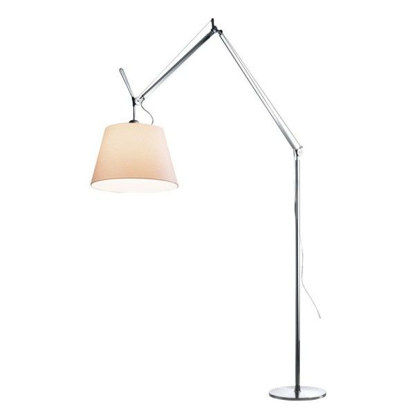artemide tolomeo mega terra vloerlamp met dimmer aluminium. Black Bedroom Furniture Sets. Home Design Ideas