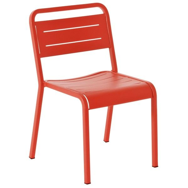 Emu Urban Chair tuinstoel rood