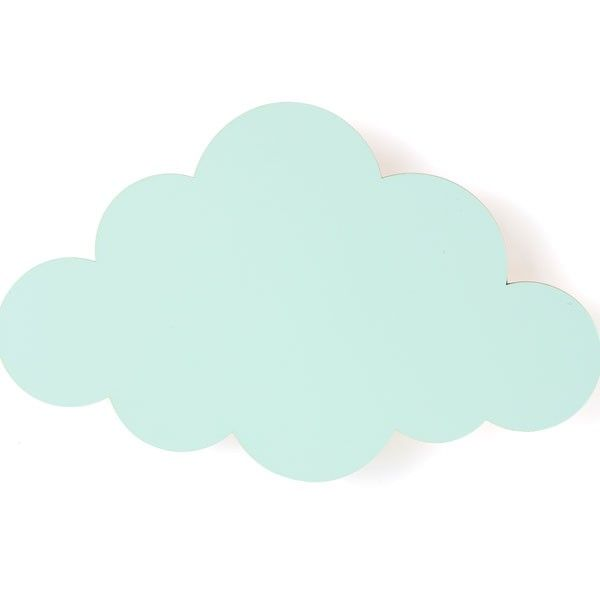 Ferm Living Cloud wandlamp mint