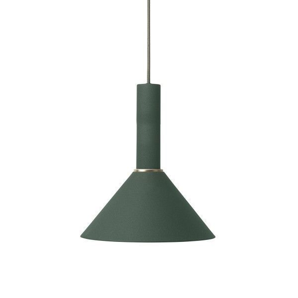 Ferm Living Cone Dark Green hanglamp
