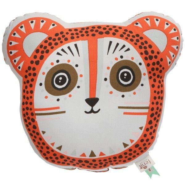 Ferm Living Billy Bear kussen oranje 36x32