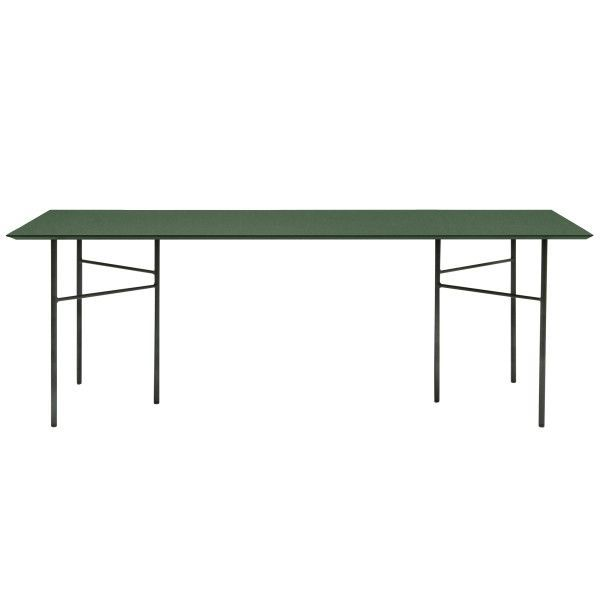 Ferm Living Mingle Green Linoleum tafel 210x90