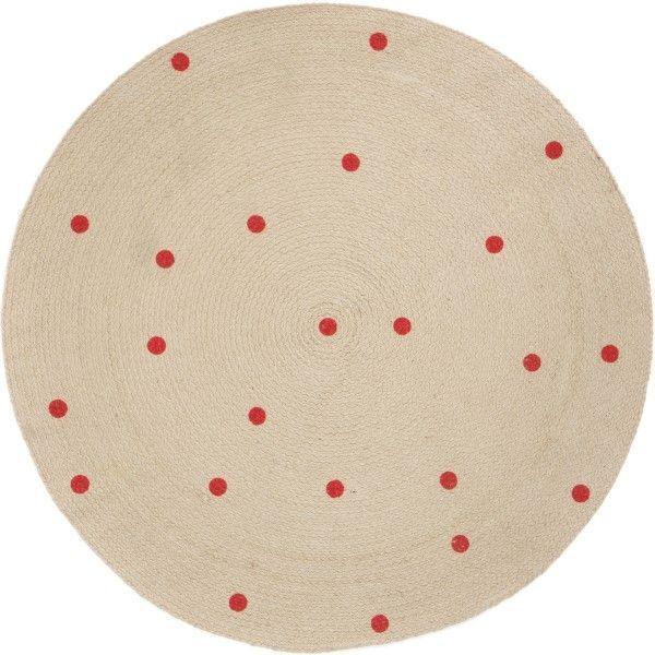 Ferm Living Round Carpet Dots vloerkleed 100