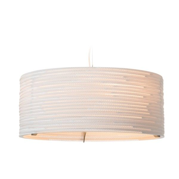 Graypants Drum 24 White hanglamp