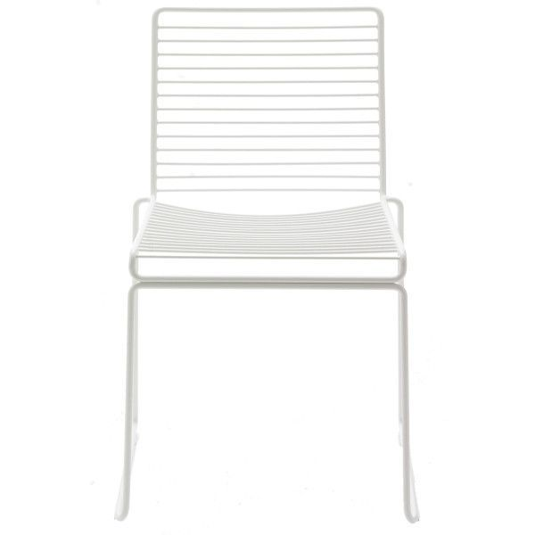 Hay Outlet - Hee Dining Chair tuinstoel wit