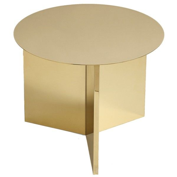 Hay Slit Table Round bijzettafel 45