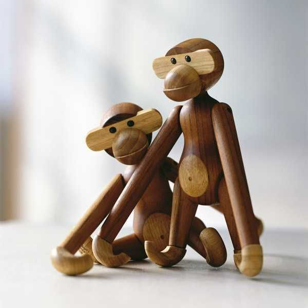 Kay Bojesen Monkey speelgoed medium