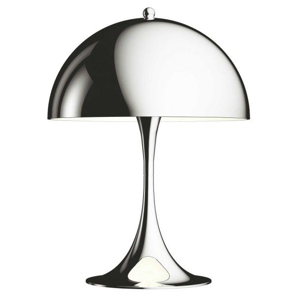 Louis Poulsen Panthella Mini tafellamp LED chroom