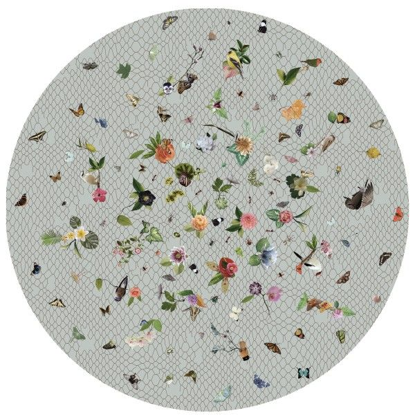 Moooi Carpets Garden of Eden Round Netting vloerkleed 350