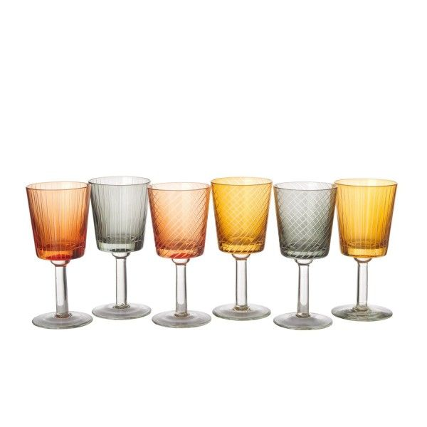 Pols Potten Wine Glass Library glazenset 6 stuks
