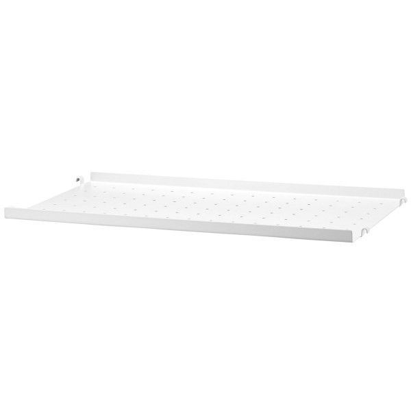 String Outlet - Metal shelf low edge 58x30 1-pack wit