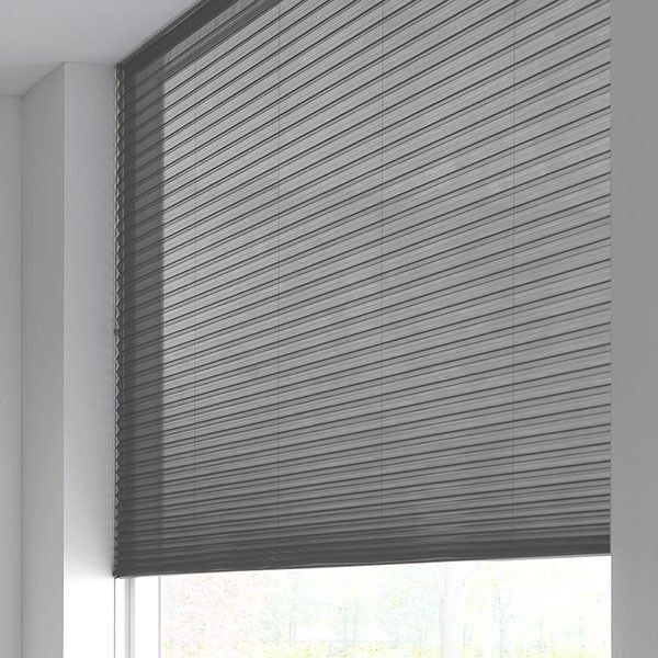 Sunway Duette® Shade - half-transparant - graphite grey 6177