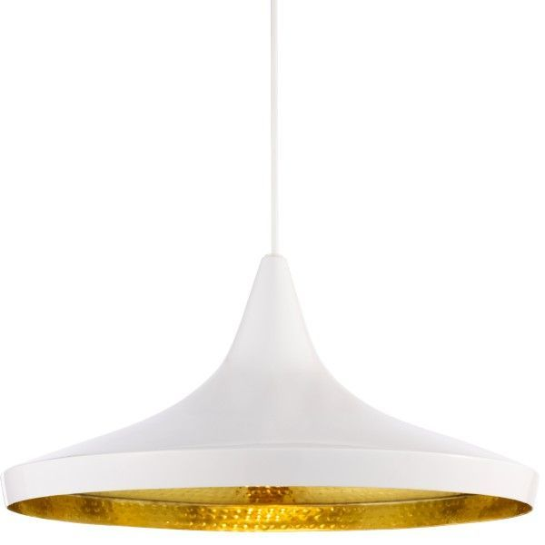 Tom Dixon Beat Light Wide hanglamp wit