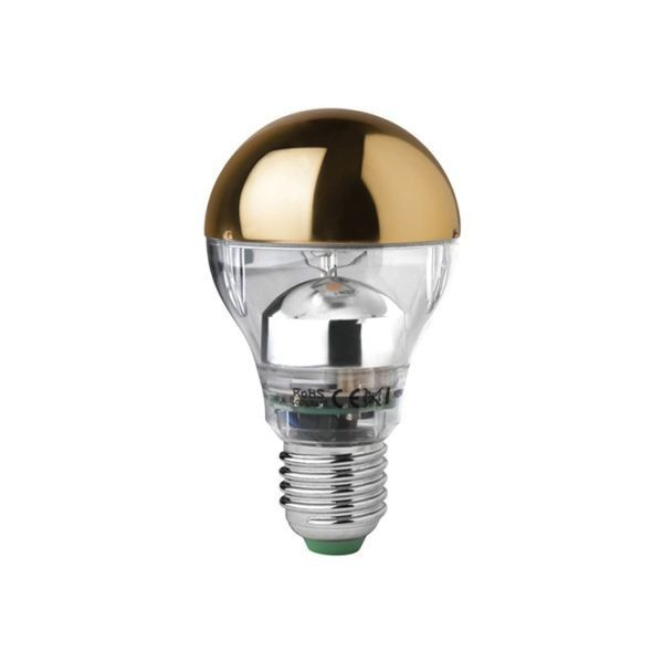 Tom Dixon Brass Crowned E27 LED 5W 2800K lichtbron dimbaar