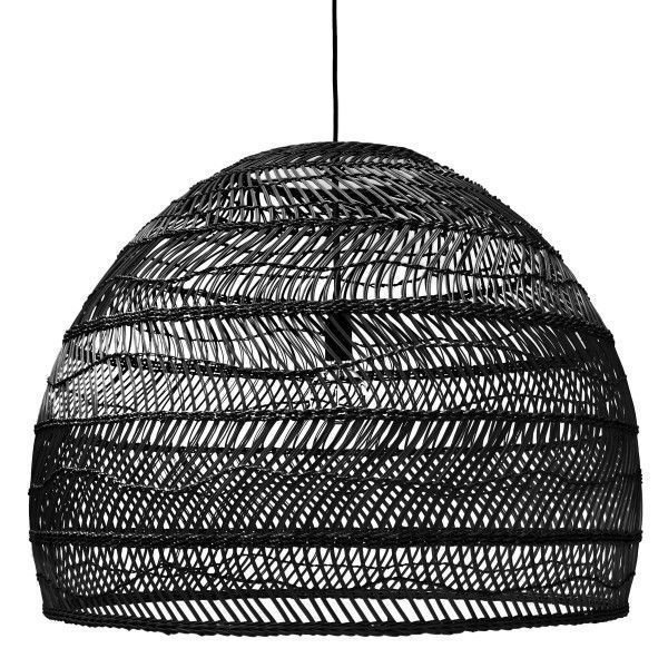 HKliving Wicker hanglamp large