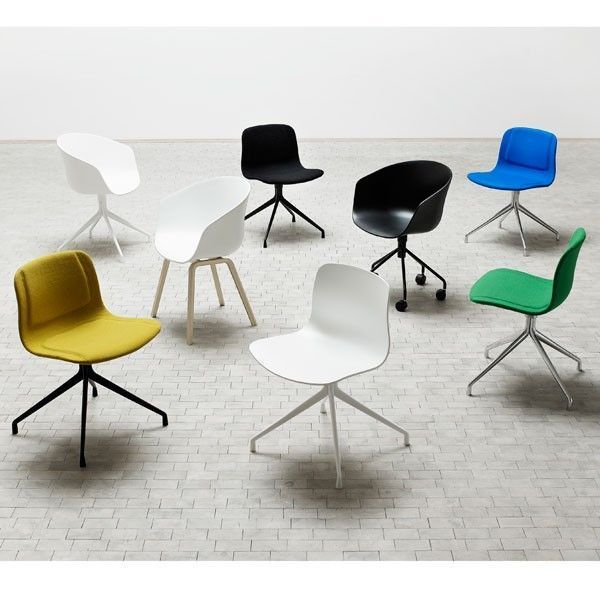 Hay About a Chair AAC20 stoel wit onderstel