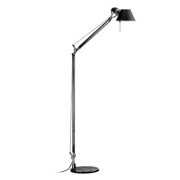 artemide tolomeo lettura vloerlamp met zwarte voet flinders verzendt gratis. Black Bedroom Furniture Sets. Home Design Ideas