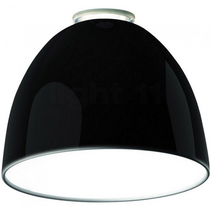 artemide outlet nur gloss plafondlamp zwart flinders verzendt gratis. Black Bedroom Furniture Sets. Home Design Ideas