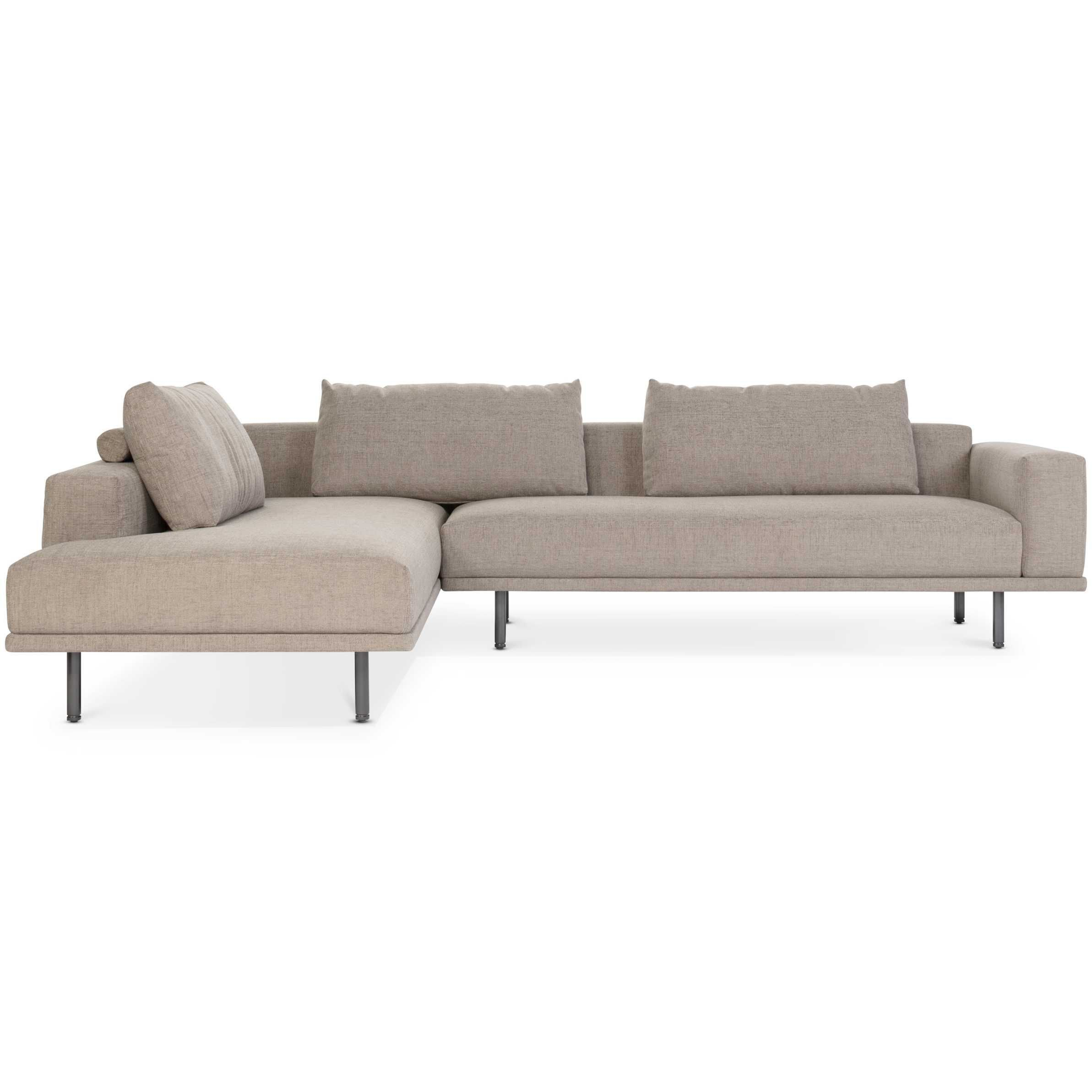 Hoekbank Met Chaise Longue.Design On Stock Cascade Hoekbank Met Open Chaise Longue