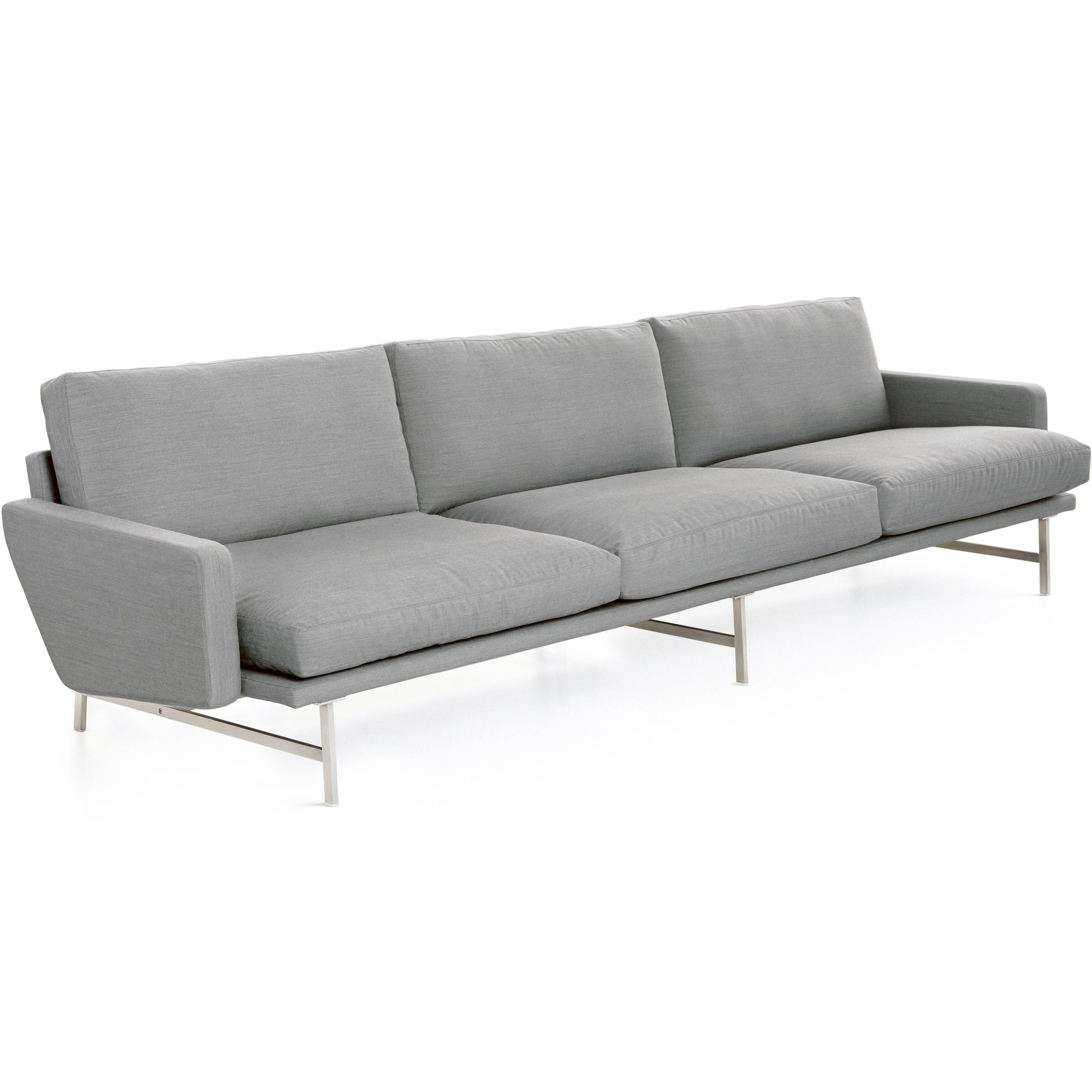 fritz hansen lissoni sofa bank 3 zits flinders verzendt gratis. Black Bedroom Furniture Sets. Home Design Ideas