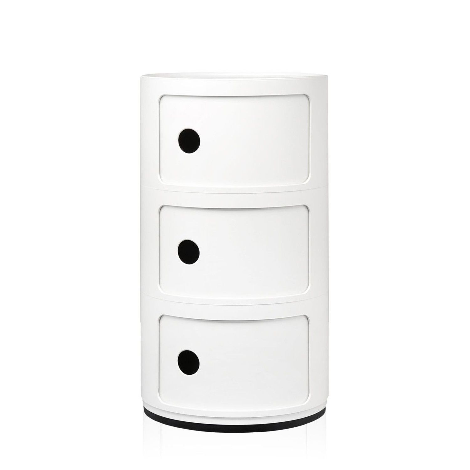 kartell componibili kast rond large 3 comp flinders verzendt gratis. Black Bedroom Furniture Sets. Home Design Ideas