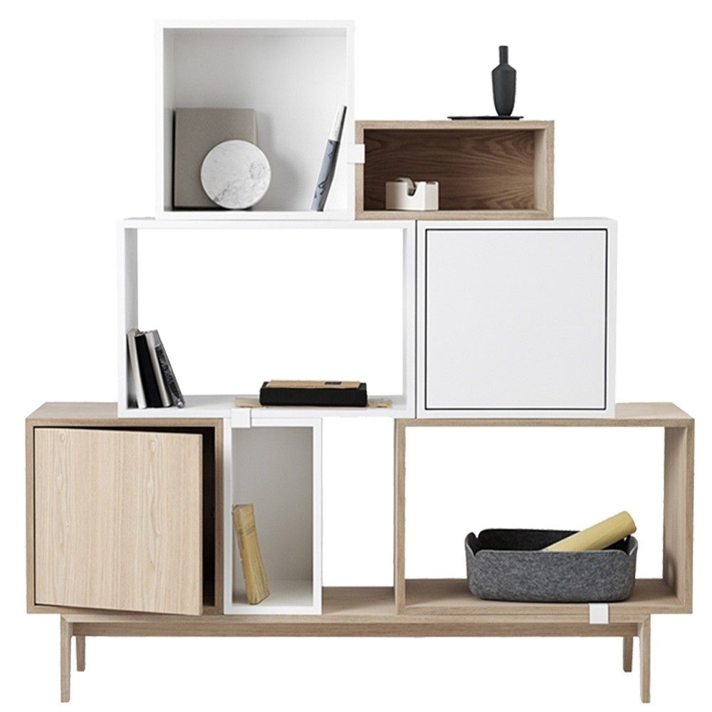 muuto stacked 7 kast op podium c flinders verzendt gratis. Black Bedroom Furniture Sets. Home Design Ideas