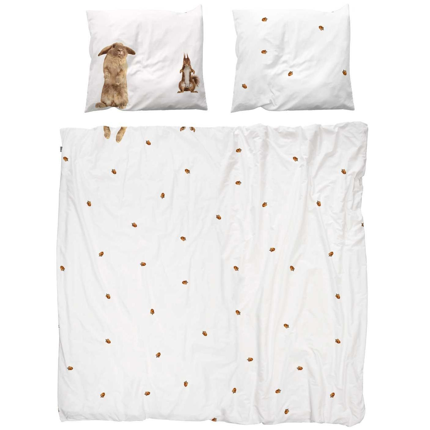 Snurk Outlet Furry Friends Flanel dekbedovertrek 240x200