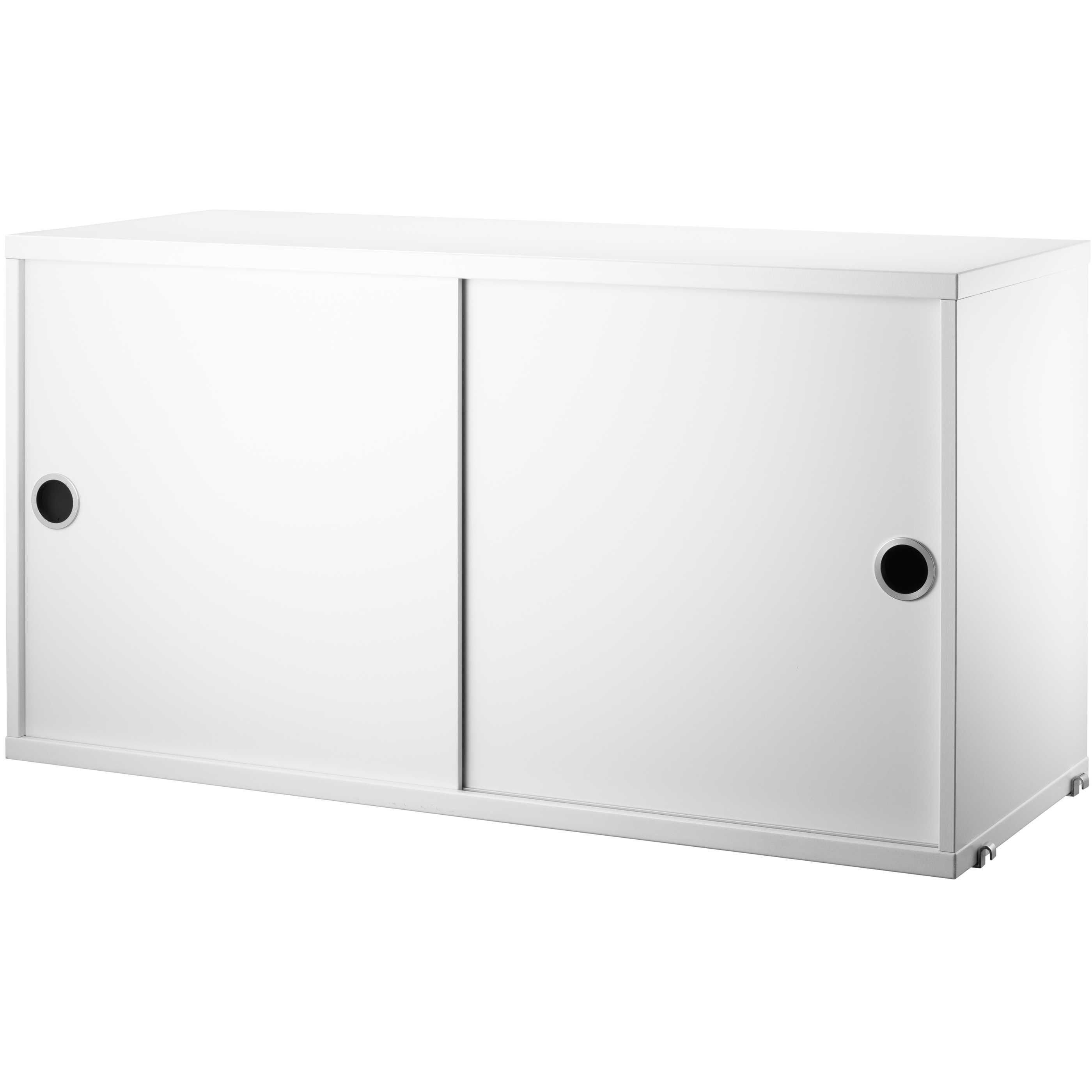 String Cabinet With Sliding Doors 78 X 20 37 Cm
