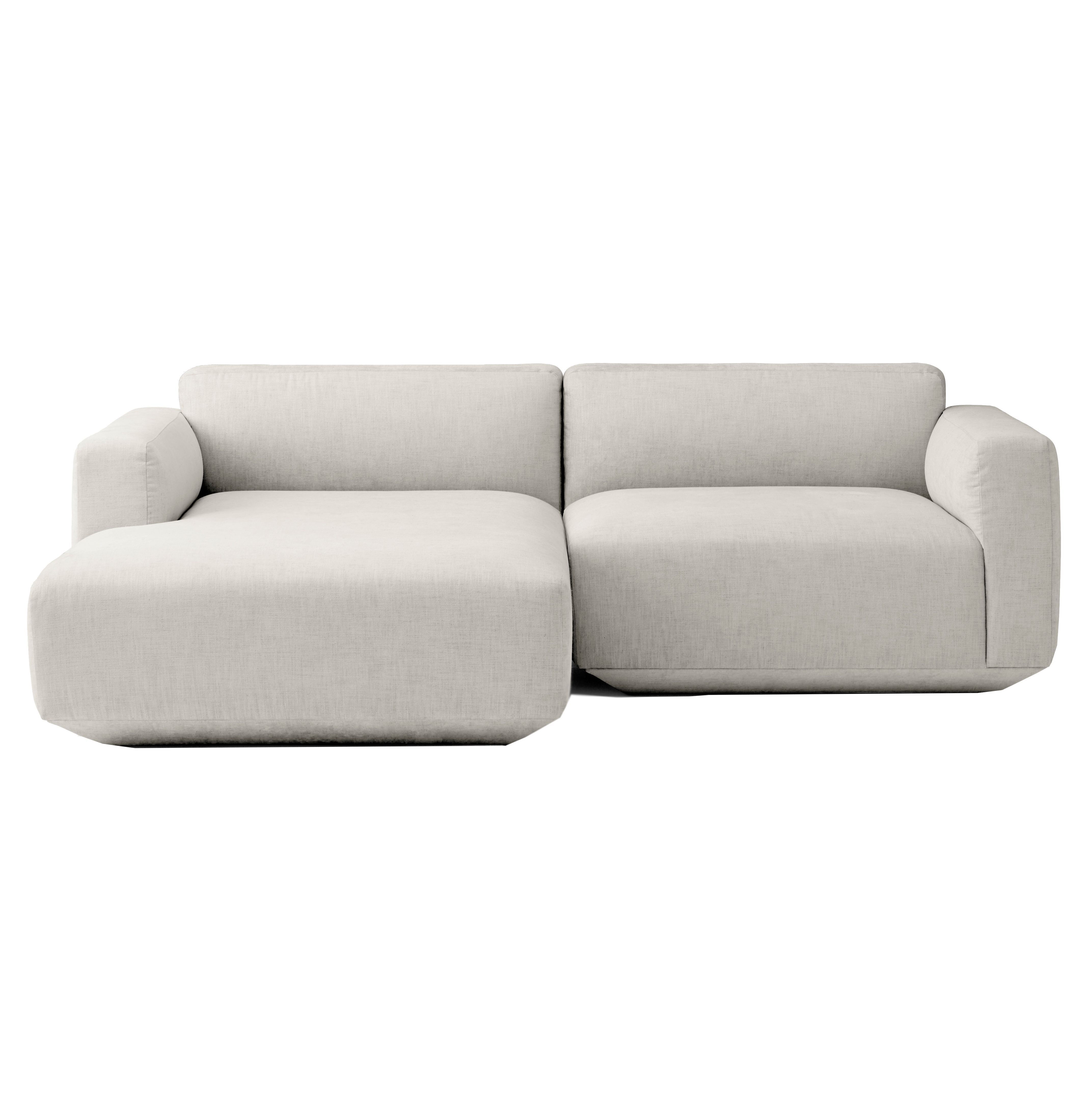 Bank Met 2 Chaise Longue.Tradition Develius Bank 2 Zits Met Chaise Longue Links
