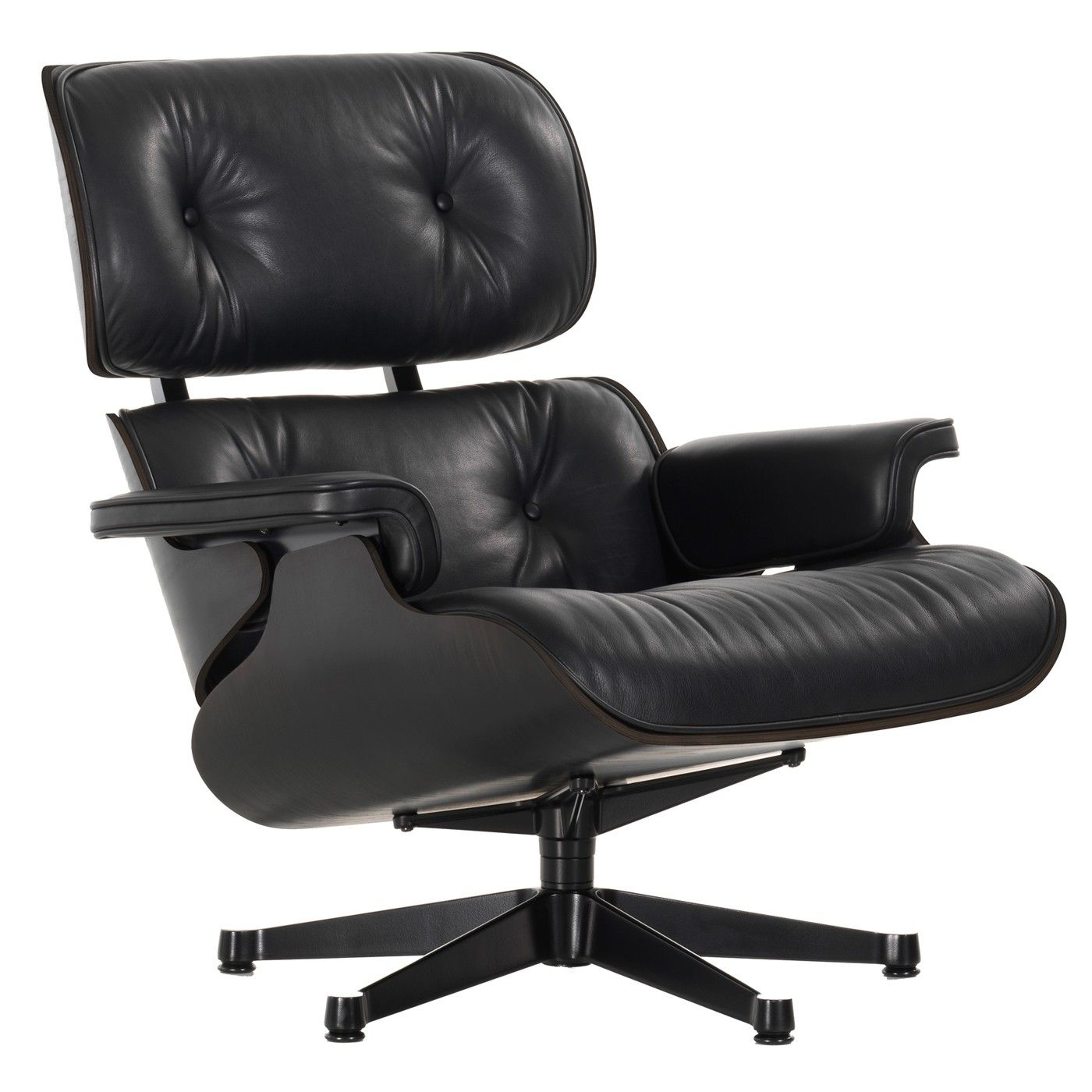 vitra eames lounge chair fauteuil zwart flinders verzendt gratis. Black Bedroom Furniture Sets. Home Design Ideas