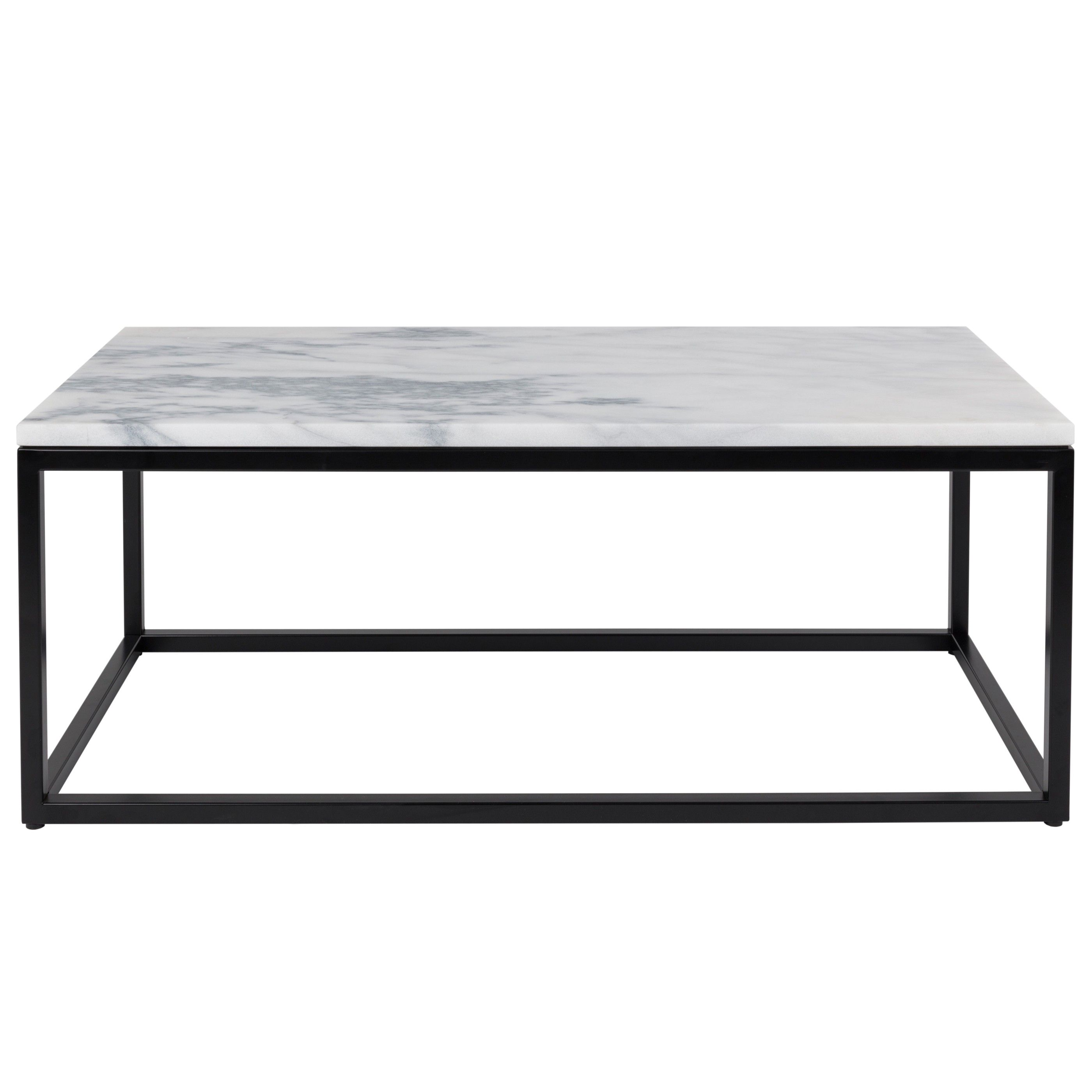 Square Marble Top Aviero Outdoor Occasional Coffee Table: Zuiver Marble Power Salontafel