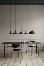 Ferm Living Record Dusty Blue hanglamp