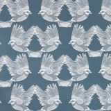 Ferm Living Birds behang Dark Green/Off White