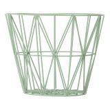 Ferm Living Wire Basket opbergmand groen medium
