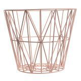 Ferm Living Wire Basket opbergmand rose medium