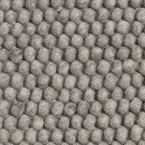 Hay Peas vloerkleed 140 x 200 medium grey