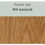 QLiv Side-to-Side tafel 240x100 natural oak oil