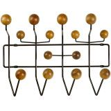 Vitra Hang it all kapstok Black Collection notenhout