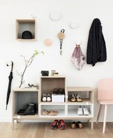Muuto Stacked kast met backboard large