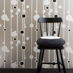 Ferm Living Walldots behang off-white