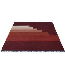 &tradition Another Rug vloerkleed 200x300 red vulcano