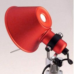 Artemide Outlet - Tolomeo Micro Pinza rood