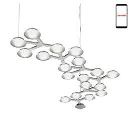 Artemide LED Net Linear 125 hanglamp LED 3000K dimbaar via smartphone